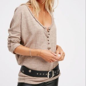 Free People (We The Free) Haven Long Sleeve Shirt